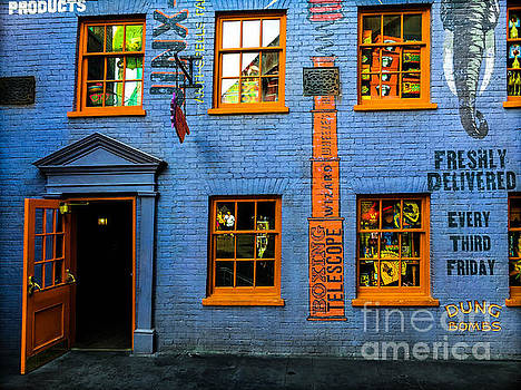 Weasleys Joke Shop by Gary Keesler