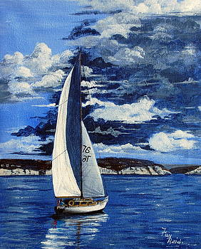 Weather Comming by Fay Reid