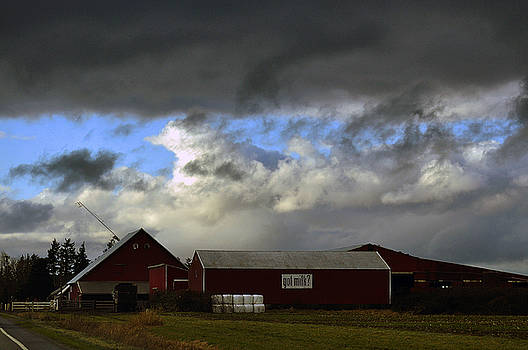 Clayton Bruster - Weather Threatening The Farm