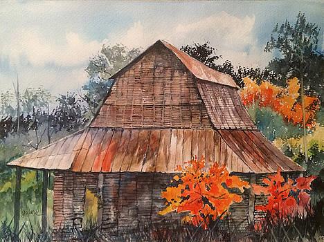 Weathered Barn by Glen Ward