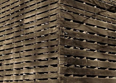 Chris Berry - Weathered Corn Crib