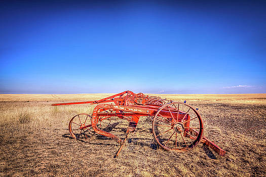 Weathered Wheels by Spencer McDonald