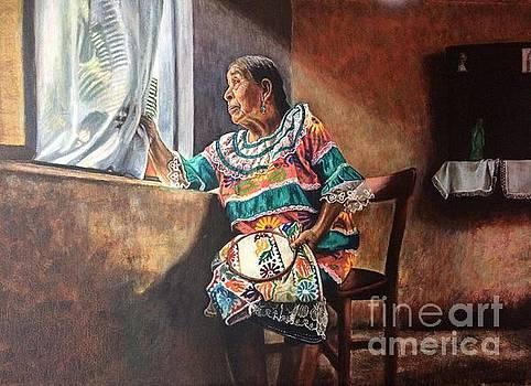 Weaving returns by Judith Zur