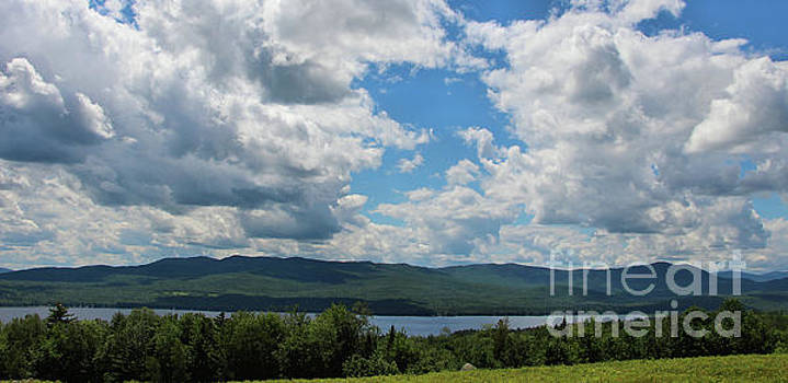Sandra Huston - Webb Lake, Maine Panorama