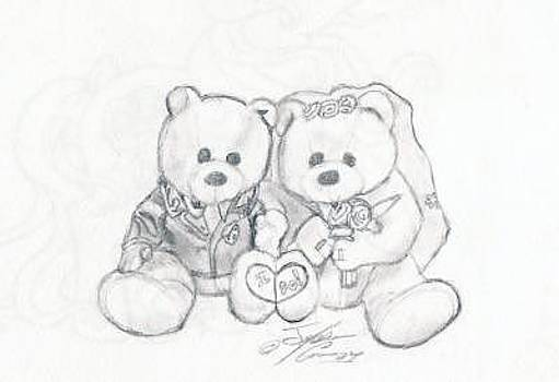 Wedding Bears by Thomas Case