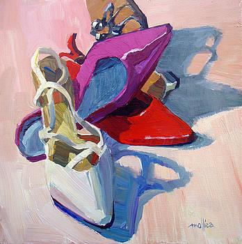 Wedding Bell Shoe by Patti Mollica