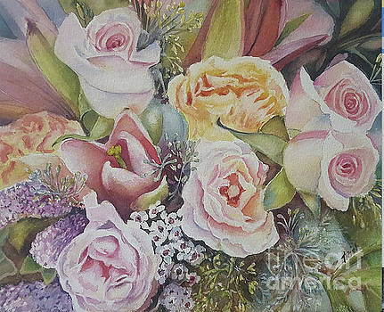 Wedding bouquet by Patricia Pushaw