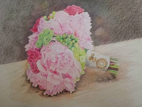 Wedding Bouquet by Vera Rodgers