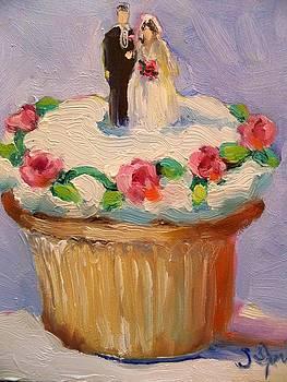 Wedding Cup Cake by Susan Jenkins