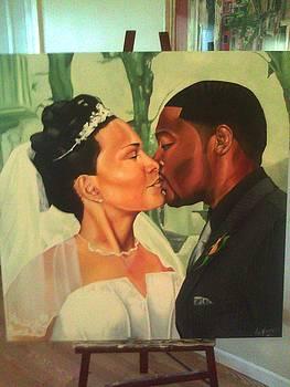 Wedding Portrait by Lamark Crosby