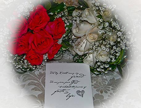 Wedding Roses by Ruthanne McCann
