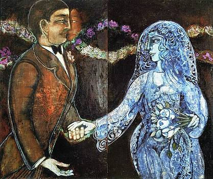 Wedding with Phantom Face by Anne Eaton Parker