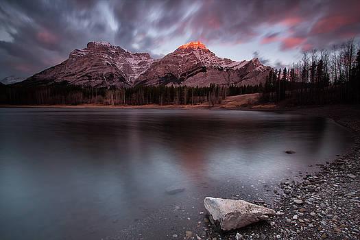 Wedge Pond Dawn by Celine Pollard