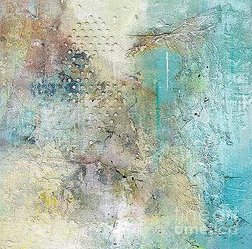 Wednesdays Abstract by Frances Marino