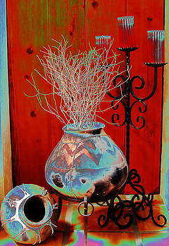 Weed Pot 7 by M Diane Bonaparte