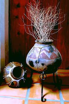 Weed Pot 8 by M Diane Bonaparte