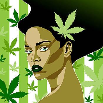 Rihanna Weed Theme by Keidi Sel