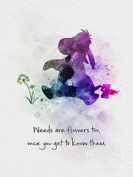 Weeds Are Flowers To Once You Get To Know Them by My Inspiration