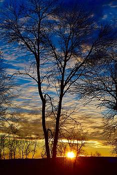 Weekend Sunrise in Minnesota by Dacia Doroff