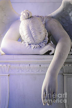 Weeping Angel, New Orleans 2 by Mary  Smyth