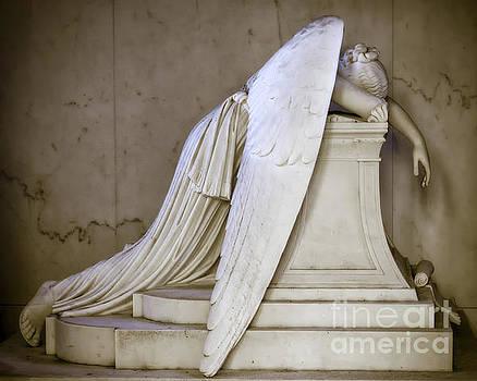 Weeping Angel - Antiqued by Kathleen K Parker