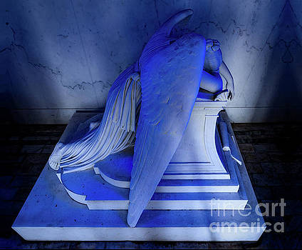 Weeping Angel Blue by Jerry Fornarotto