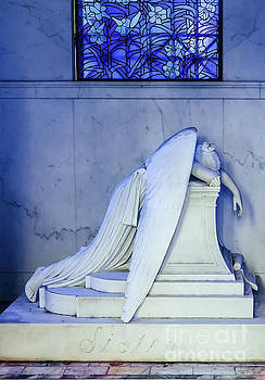 Kathleen K Parker - Weeping Angel- Metairie Cemetery - NOLA