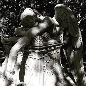 Weeping Angel. #weepingangel #grief by Kerri Ann Crau