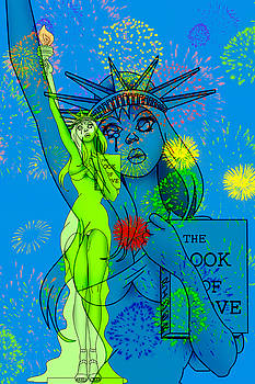 Weeping Liberty by Lynn Rider