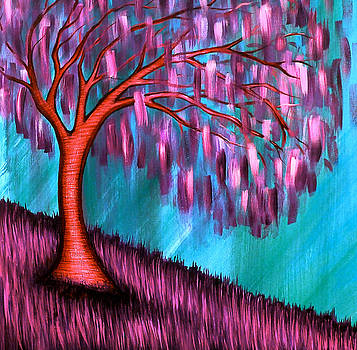 Weeping Willow II by Brenda Higginson
