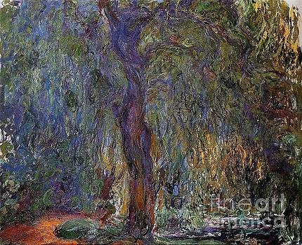 Monet - Weeping Willow II