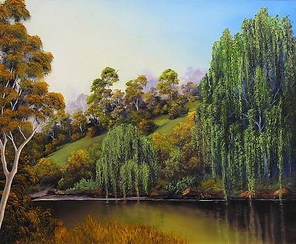 Weeping Willow by John Cocoris