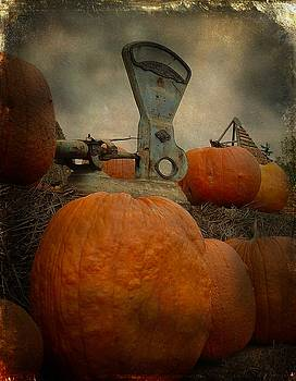 Weighing The Pumpkins by Gothicrow Images