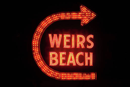 Weirs Beach Icon by Brian Pflanz
