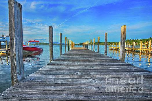 Weirs Docks, N H by Mim White