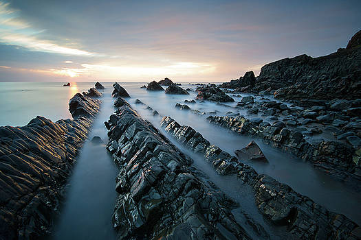 Welcombe Mouth by Mark Leader