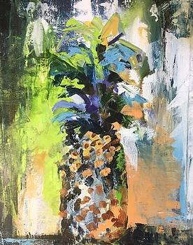 Welcome Pinapple by Karen Ahuja