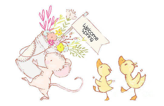 Welcome Spring Parade by Pam  Holdsworth