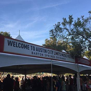 Welcome To Austin #acl #music #austin by Gin Young