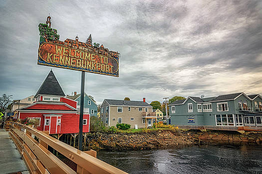Welcome to Kennebunkport by Rick Berk