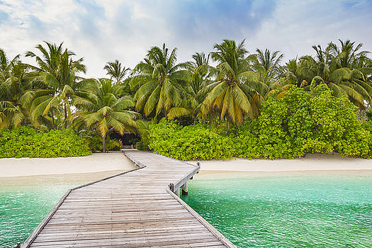 Welcome to Kuramathi Island by Yana Reint