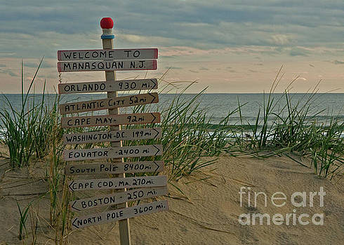 Welcome to Manasquan by Robert Pilkington