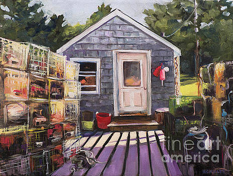 Welcome to my Dock by Lynne Schulte
