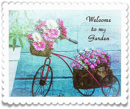 Welcome to my Garden by Leticia Latocki