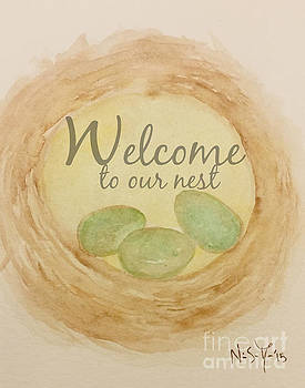 Welcome to our nest by Sacred  Muse