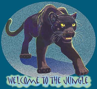 Welcome To The Jungle by J L Meadows