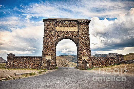Welcome to Yellowstone by Rachel Barrett