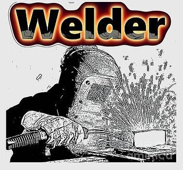Welder by Mark Moore