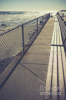 Wells Beach Maine by Edward Fielding