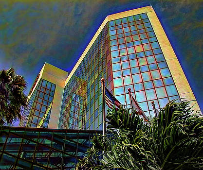 Wells Fargo Building Sarasota by Richard Goldman